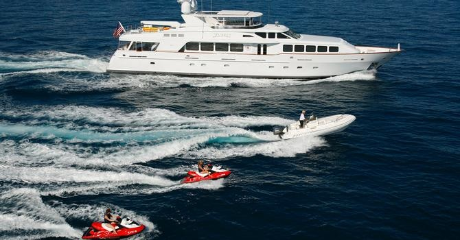 ... a 44.2m Benetti motor yacht who is asking €12.995 million.