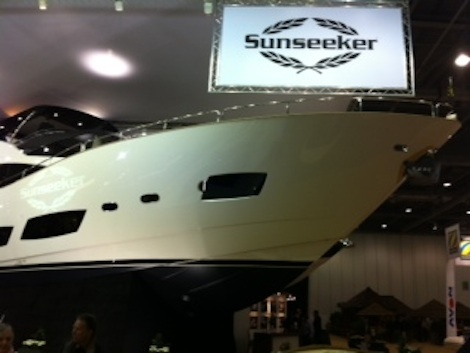 Semi-custom yachts are Sunseeker's bread and butter and this vessel is no ...