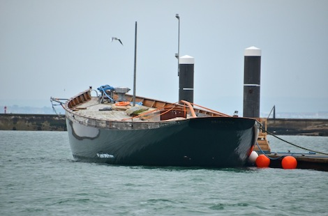Image for article Royal yacht begins long awaited rebuild