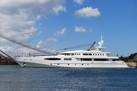 Image for article Superyacht Launches in July 2012