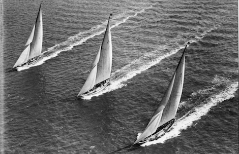 Image for article Rebuilding superyacht racing history in Cowes
