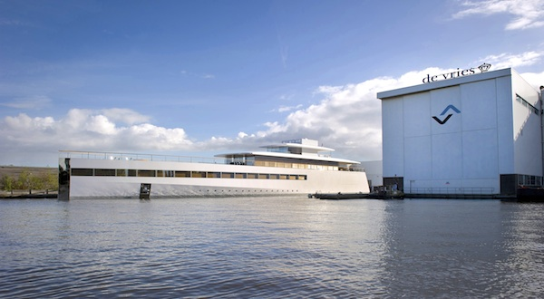 Image for article Feadship launch 78m 'Venus'