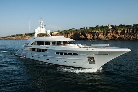 Image for article Piet Brouwer completes three superyacht projects