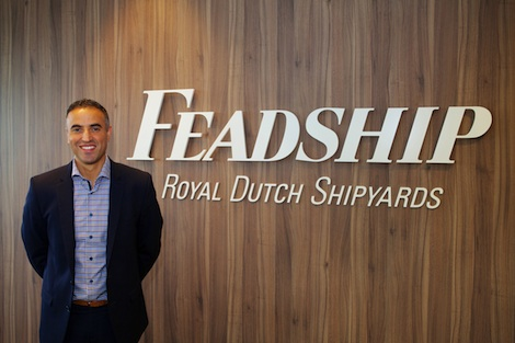 Image for article Feadship appoints Farouk Nefzi as marketing & brand director