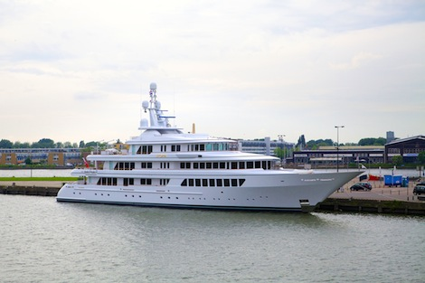 Image for article 'Utopia' re-launched after refit at Feadship