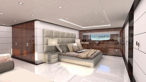 Image for article Mondomarine launch 41m M/Y 'Nameless'