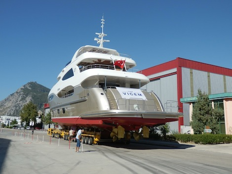 Image for article Vicem launches the Vulcan 35m trideck