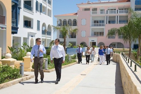 Image for article Cyprus minister sees progress at Limassol marina