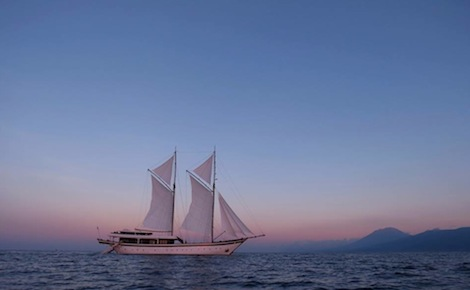 Image for article New luxury charter option for Indonesia