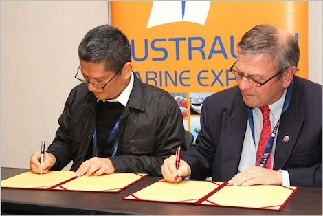 Image for article AIMEX and Kaohsiung government sign MoU