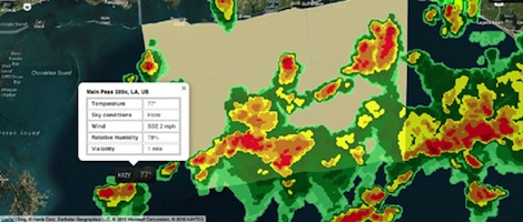 Image for article Baron Services launches Velocity Weather API