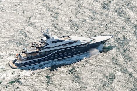 Image for article 'Solandge' seen on sea trials