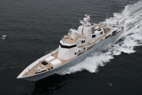 Image for article 'Ronin' leaves Lürssen after eleven-month refit