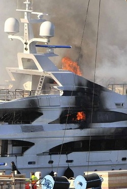 Image for article Fire at Benetti: Official yard statement