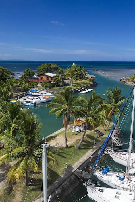 Image for article Vuda marina in Fiji approved as boarding station