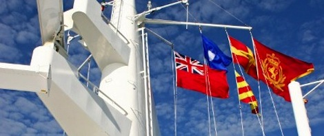 Image for article What makes a good flag? We want captains to tell us