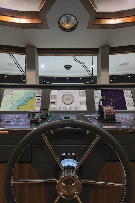 Image for article Raytheon Anschütz to show latest generation Bridge Control series at Monaco
