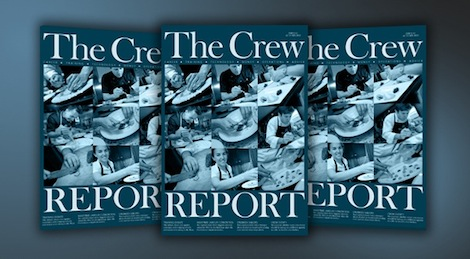 Image for article The Crew Report's boat show issue is out now!