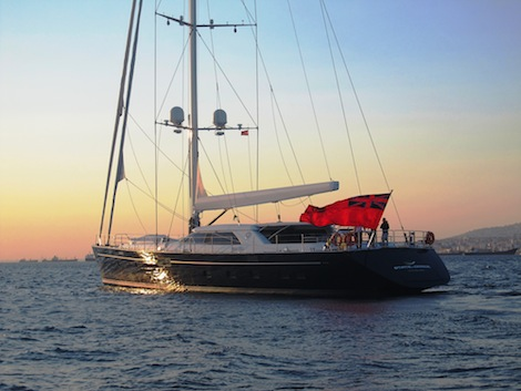 Image for article The Perini Navi Group delivers 40m 'State of Grace'