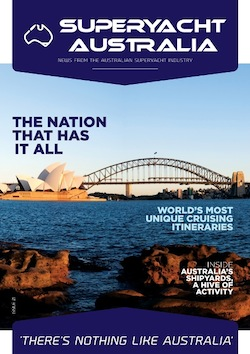 Image for article Superyacht Australia launches new magazine at MYS