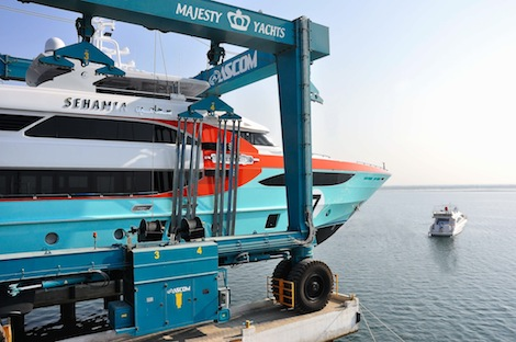 Image for article Gulf Craft launch Majesty 135 'Sehamia'