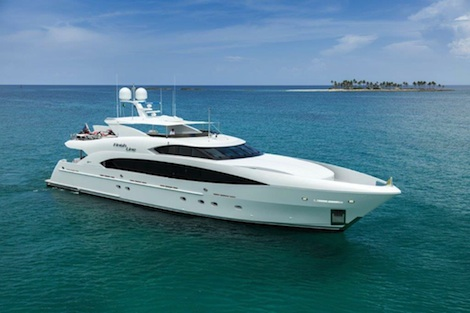 Image for article Trinity Yachts deliver motoryacht 'Finish Line'