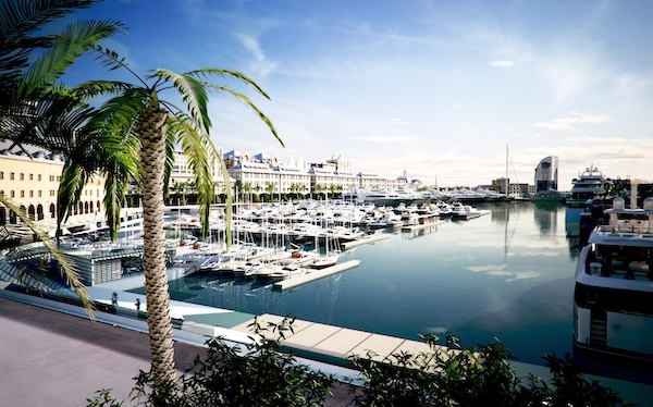 Image for article Galactica Star calls Marina Port Vell home