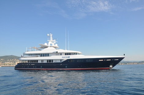 Image for article Major refit for 48m 'Princess Too' at Icon Yachts