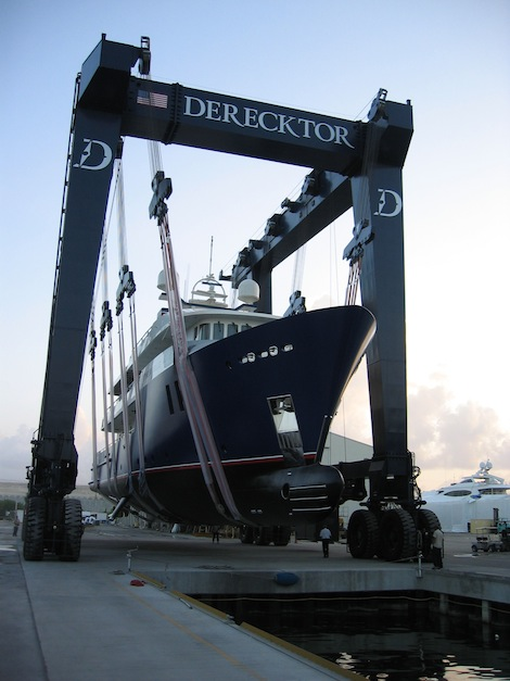 Image for article Derecktor complete refit on 'The Big Blue'