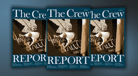 Image for article Issue 66 of The Crew Report is published