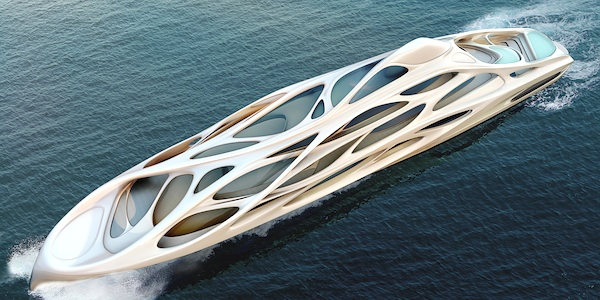 Image for article Blohm+Voss unveils  Zaha Hadid concept to buyers