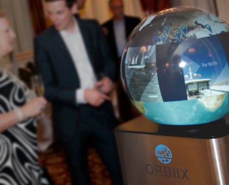 Image for article 360° display globe ORBIIX launched by Oculus Technologies