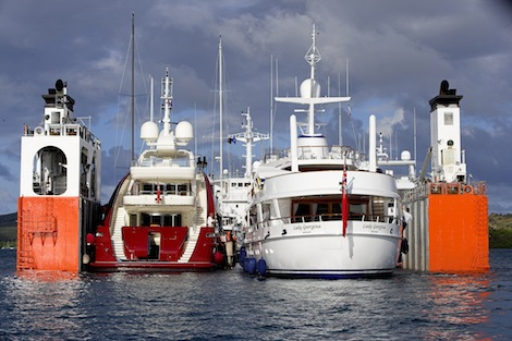 Image for article Sevenstar Yacht Services acquires Dockwise Yacht Transport activities