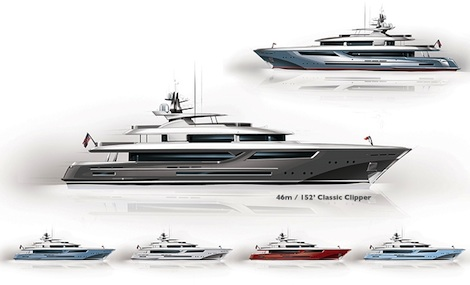 Image for article Setzer and Front Street partner on new American yacht designs