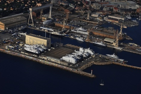 Image for article Monaco Marine La Ciotat facility enjoys surge in activity