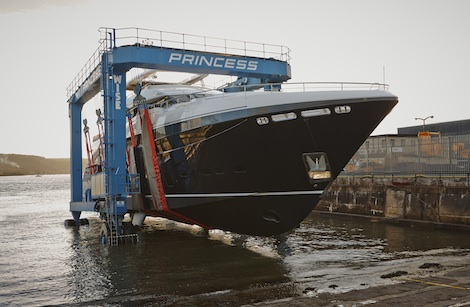 Image for article Princess Yachts launch 40m motoryacht
