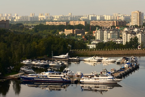 Image for article Russia considers visa-free yacht visits