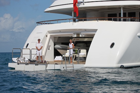Image for article Lessons in yachting: Deck training