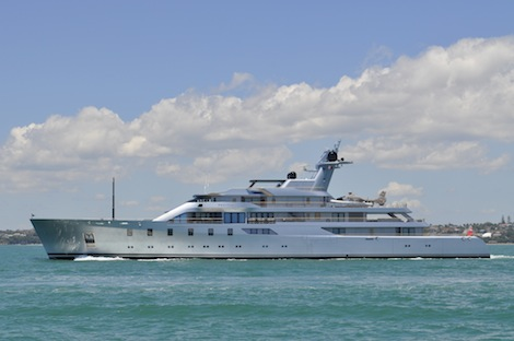 Image for article New Zealand throws its support behind superyachts
