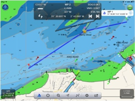 Image for article New navigational app to make UK cruising more attractive?