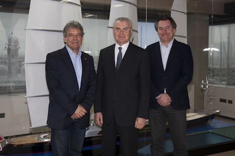 Image for article Perini Navi unveils new CEO