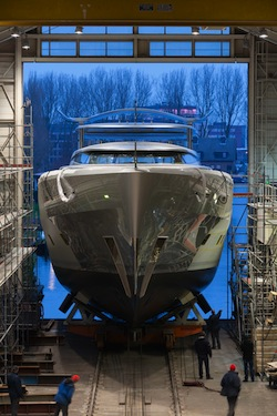 Image for article Feadship launches 46m 'Como'
