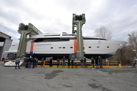Image for article Sanlorenzo launches 36.5m  'H1'