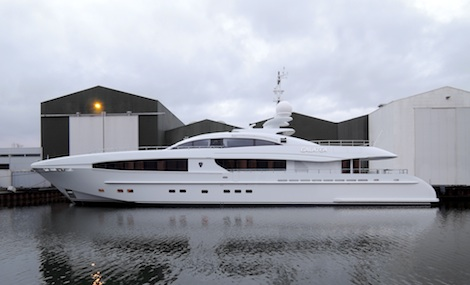 Image for article Heesen launch 40m 'sportster' motoryacht 'Galatea'
