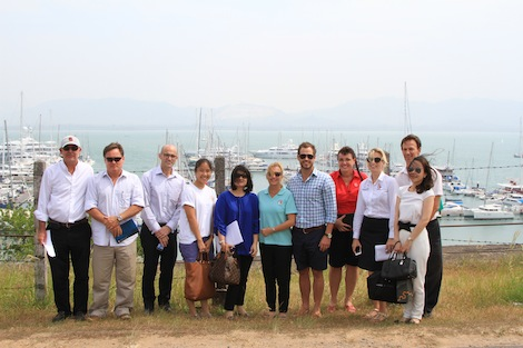Image for article Asian trade mission hailed a success by Superyacht Australia