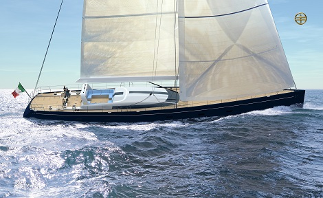 Image for article Perini Navi Group signs order for second in 38m racing line