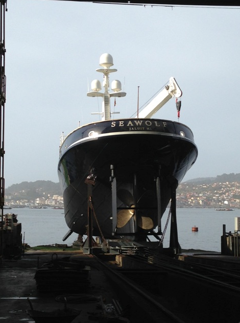 Image for article Atollvic completes major refit of 'Seawolf'