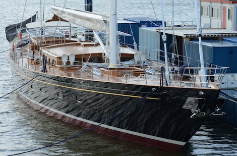 Image for article Royal Huisman launch 47.65m 'Wisp'