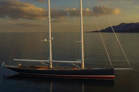 Image for article Astilleros Buquebus launches 52.5m S/Y 'Dona Francisca'