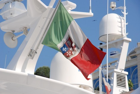 Image for article Italian yachting receives surprising source of support from the Left